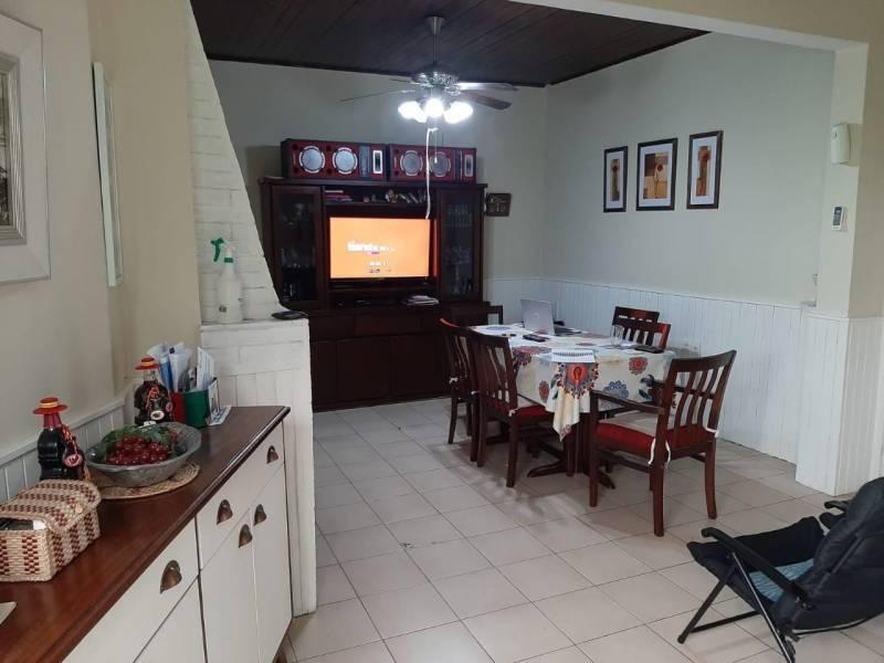 Living comedor con hogar