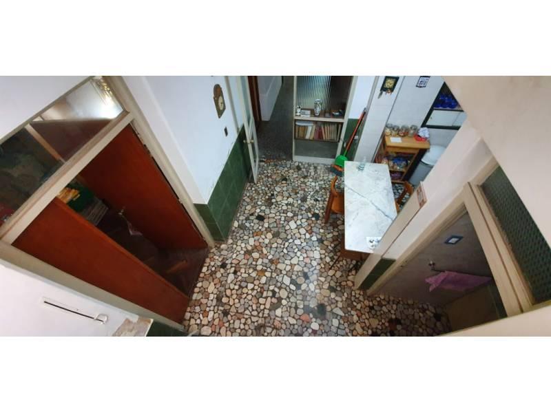 Vista desde la habitación de planta alta a la cocina
